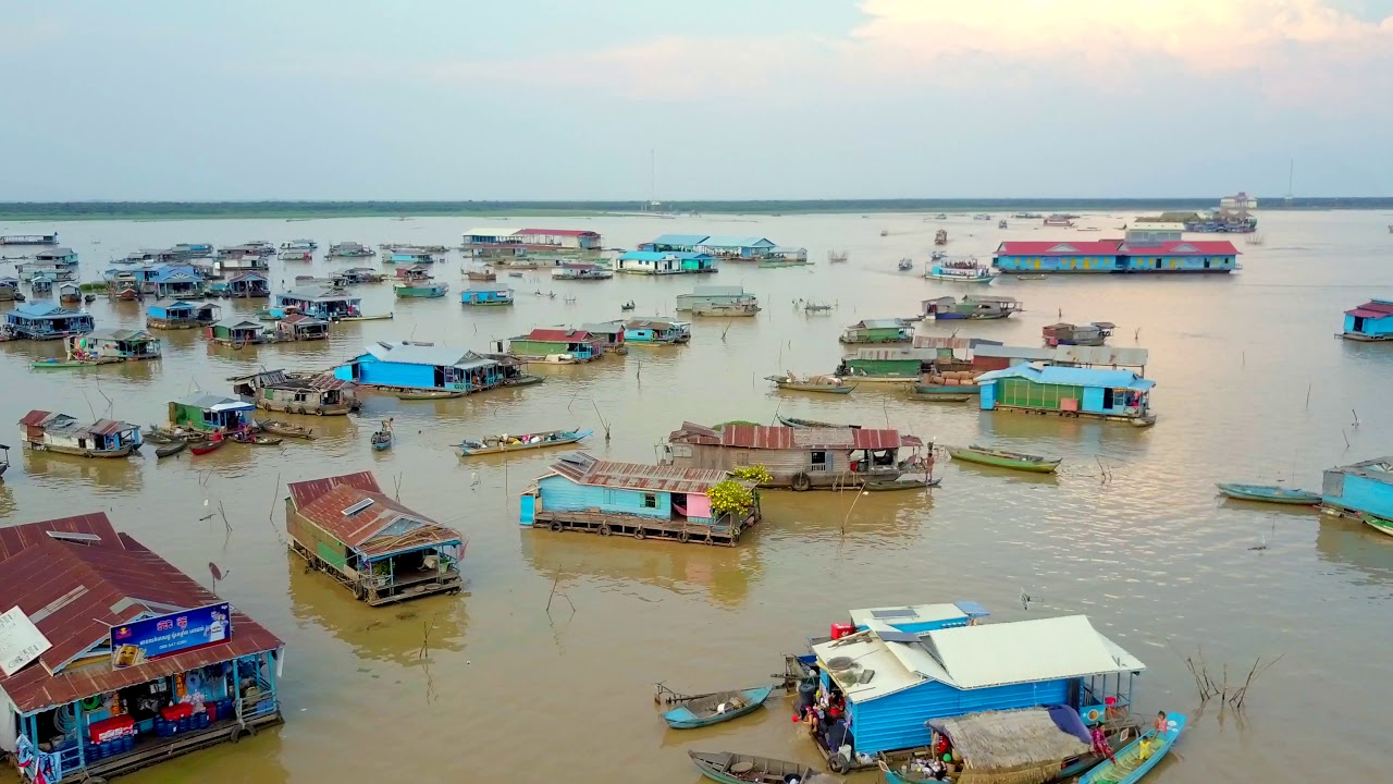 The floating village of Chong Khneas